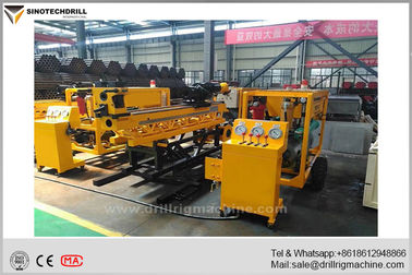 Separated Type Underground Core Drill Rig 700m Depth with BQ Accessories