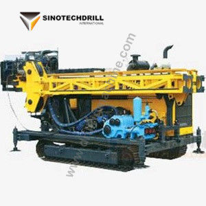 Advanced Core Drill Rig 1500m Drilling Depth for Mineral Diamond Core Drilling